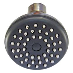Deluxe Duschkopf / Kopfbrause Ø 70mm - 46 Düsen - 10 Stück - mit Antikalkdüsen