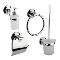 Badezimmer-Set  /Papierhalter, Wc Bürste,...