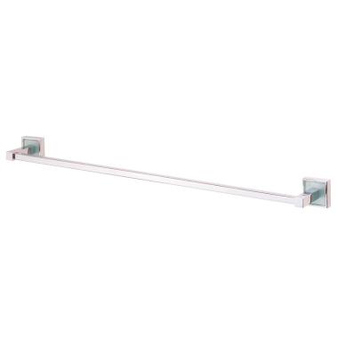 Design Handtuchhalter / Handtuchstange / Handtuchablage / Wandstange, ca. 65 cm - Quadra