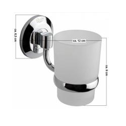 Design Mundspülglas / Zahnputzglas - Serie: Rimini