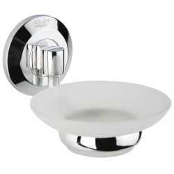 Design Seifenschale / Seifenablage mit Glaseinsatz -...