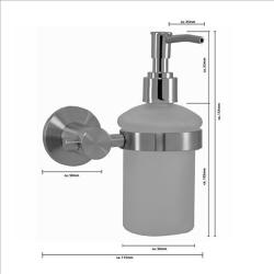 Seifenspender / Spender Flüssigseife - Rondo