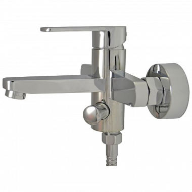 Design Waschtischarmatur Badewannen Armatur Messing Chrome Bad WC