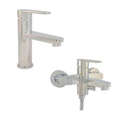 Design Waschtischarmatur Badewannen Armatur Messing...