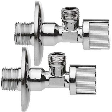 Ventil / Anschlussventil / Eckventil / Zulauf in Küche, Bad, WC - Set mit 9  Stück