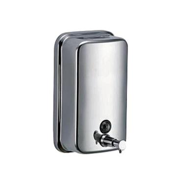 Edelstahl Seifenspender 800ml. mit Sichtfenster zum nachfüllen, 26,90 €