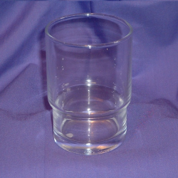 Ersatz Mundspülglas passt zu allen unseren Serien /Ersatzglas / Glas / Bad