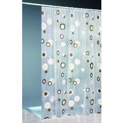 Moderner Duschvorhang +Ringe 180x200cm/Top Qualität...