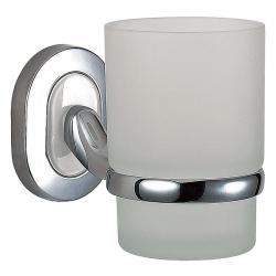 Mundspülglas mit Wandhalterung / Top Qualität/Bad