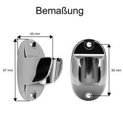 Retro Duscharmatur Messing mit Handbrause Brausehalter und Schlauch 140 cm