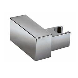 Stabbrause / Brause, quadratisch, mit Brausehalterung, Brauseschlauch – 200 cm
