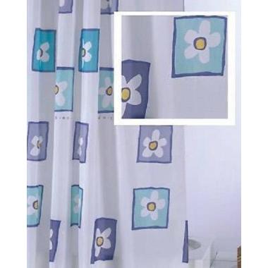 Textil Duschvorhang /Beschwerungsband 180x200