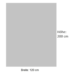 Moderner Duschvorhang / Brausevorhang - Bianco - 120 x...