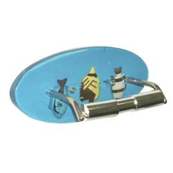 Toilettenpapierhalter / Papierhalter/ Fische/ WC