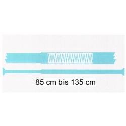 Vorhangstange / Duschvorhangschiene / Stange für Duschvorhang 85 bis 135cm