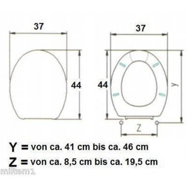 WC-Set// Papierhalter Toilettenbürste// Acryl 01202
