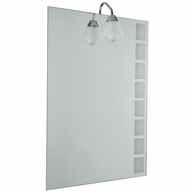 Wandspiegel badspiegel flurspiegel garderobenspiegel mit beleuc - Badspiegel 50 x 70 ...