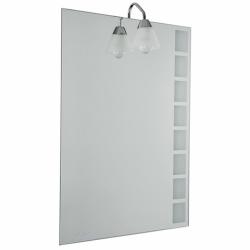 badspiegel flurspiegel garderobenspiegel ca 60x45cm eckig 3. Black Bedroom Furniture Sets. Home Design Ideas