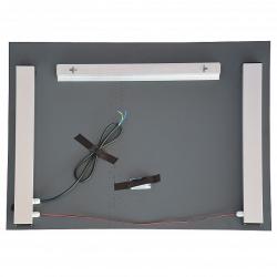 Design Badspiegel / Flurspiegel mit LED Beleuchtung  80cm x 60cm / Bad WC