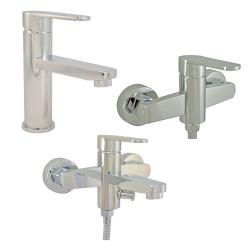 Design Waschtisch Badewannen Dusch Armatur Bad WC Messing...