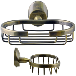 Seifengitter / Seifenablage / Seifenhalter / Ablage - Serie Old Brass