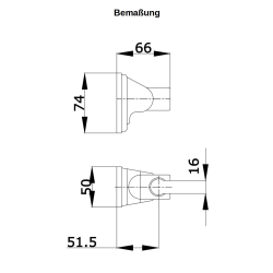 Handbrause Set / Duschkopf Set / mit Schlauch 150cm / Brausehalter / Wandhalter