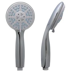 Brauseset Duschset Massage Handbrause Schlauch 200cm Brausehalter Wandanschluss