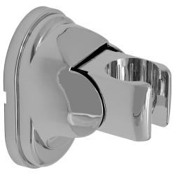 Handbrause quadratisch mit Schlauch 150 cm, Wandanschlussbogen und Brausehalterung