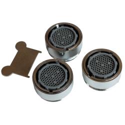 Wassersparer Strahlregler 3er Set für Armaturen mit...