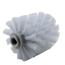 10x Ersatz Bürstenkopf weiß + 2x Griff 26 cm / Austausch Toilettenbürste / Klobürste