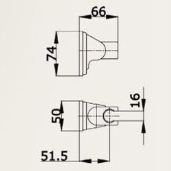 Handbrause rund Duschkopf mit Schlauch 150cm Brause Halterung Duschbrause Halter