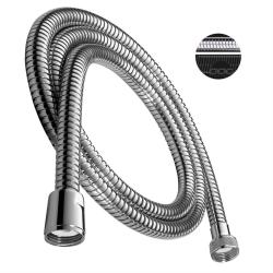 Design Handbrause rund Duschbrause mit Schlauch 200 cm Halterung  Wandanschluss