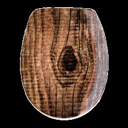 Toilettensitz mit Absenkautomatik - Ohajo Wood C5