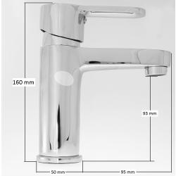 Waschtisch-Armatur mit Ablaufgarnitur