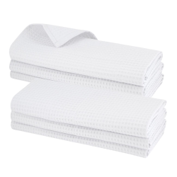 6x Geschirrtuch aus 100% Baumwolle Waffel-Piqué in...