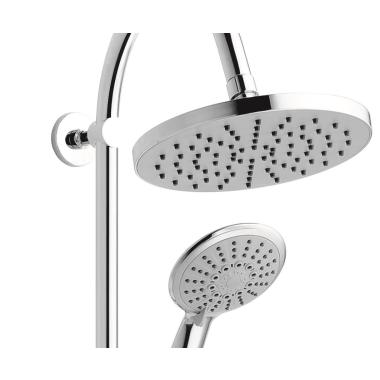 Hervorragend Duschsystem mit Thermostat-Armatur Regendusche und Brause-Set, 189,90 CP46