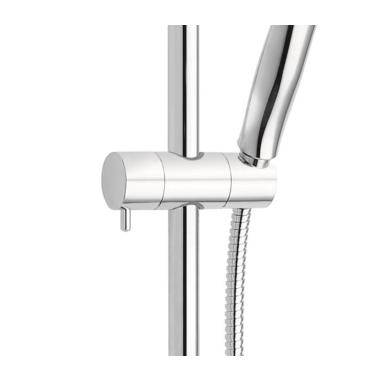 duschsystem mit thermostat armatur regendusche und brause set 189 90. Black Bedroom Furniture Sets. Home Design Ideas