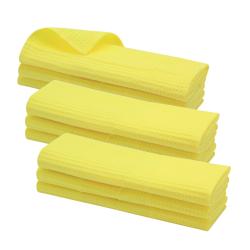 9x Geschirrtuch aus 100% Baumwolle Waffel-Piqué in...