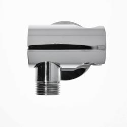 Design Wandanschlussbogen mit Brausehalterung / Anschluss Handbrause
