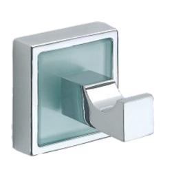 Design Handtuchhaken mit Glaseinlage / Glaseinsatz...