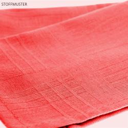 3er Pack Servietten 44cm x 44cm aus 100% Baumwolle in Rosa
