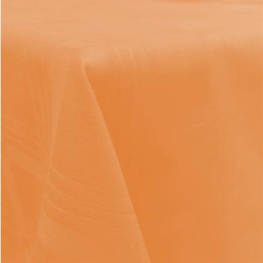 Tischdecke Tischläufer Mitteldecke in Apricot Orange 90x90cm Gastroqualität 100% Baumwolle