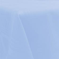Tischdecke Tischläufer Mitteldecke in Hellblau Blau 90x90cm Gastroqualität 100% Baumwolle