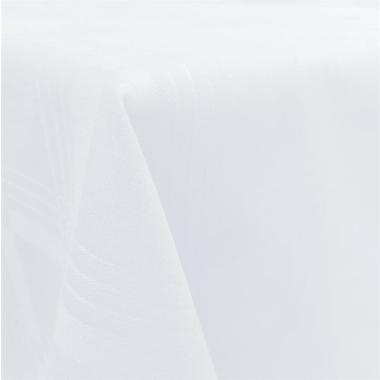Tischdecke Tischläufer Mitteldecke in Weiss Weiß 90x90cm Gastroqualität 100% Baumwolle