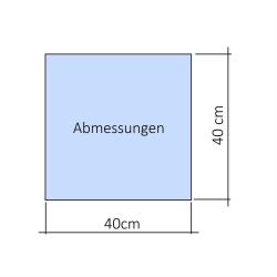 3x Profi Mikrofasertücher Poliertücher Reinigungstücher Auto Lack blau 40x40cm