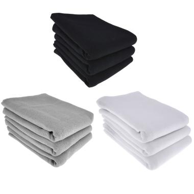 9x Geschirrtuch / Küchentuch Putztuch 100% Baumwolle 3x schwarz 3x grau 3x weiss