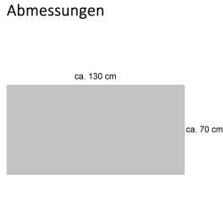 2x Duschtuch Badetuch Waffelpiqué 130 x70 cm / Baumwolle / Saunatuch schwarz
