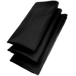 3er Pack Textil Servietten 45 x 45cm 100% Baumwolle 4...