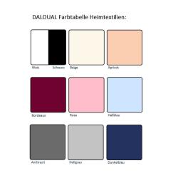 6er Pack Textil Servietten 45 x 45cm 100% Baumwolle 4 seitig eingesäumt Schwarz