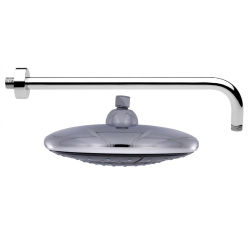 UFO- Regendusche Ø 24 cm mit 40 cm Wandarm, 102...